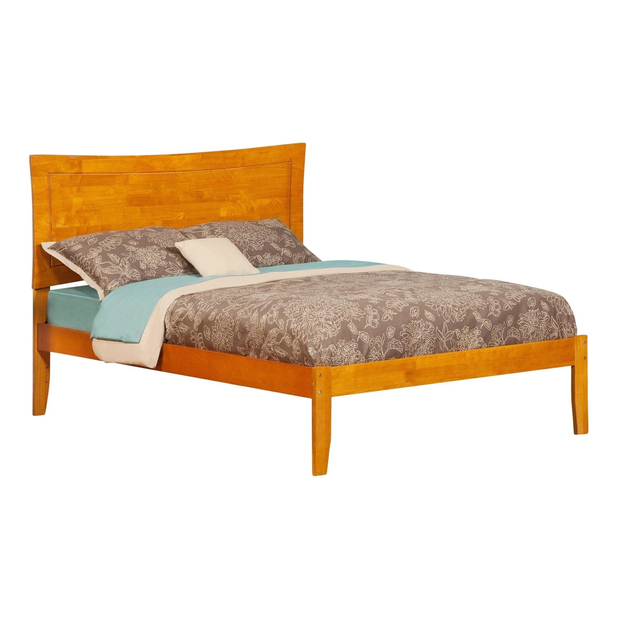 Atlantic Furniture Metro Caramel Latte Full-sized Open-foot Bed