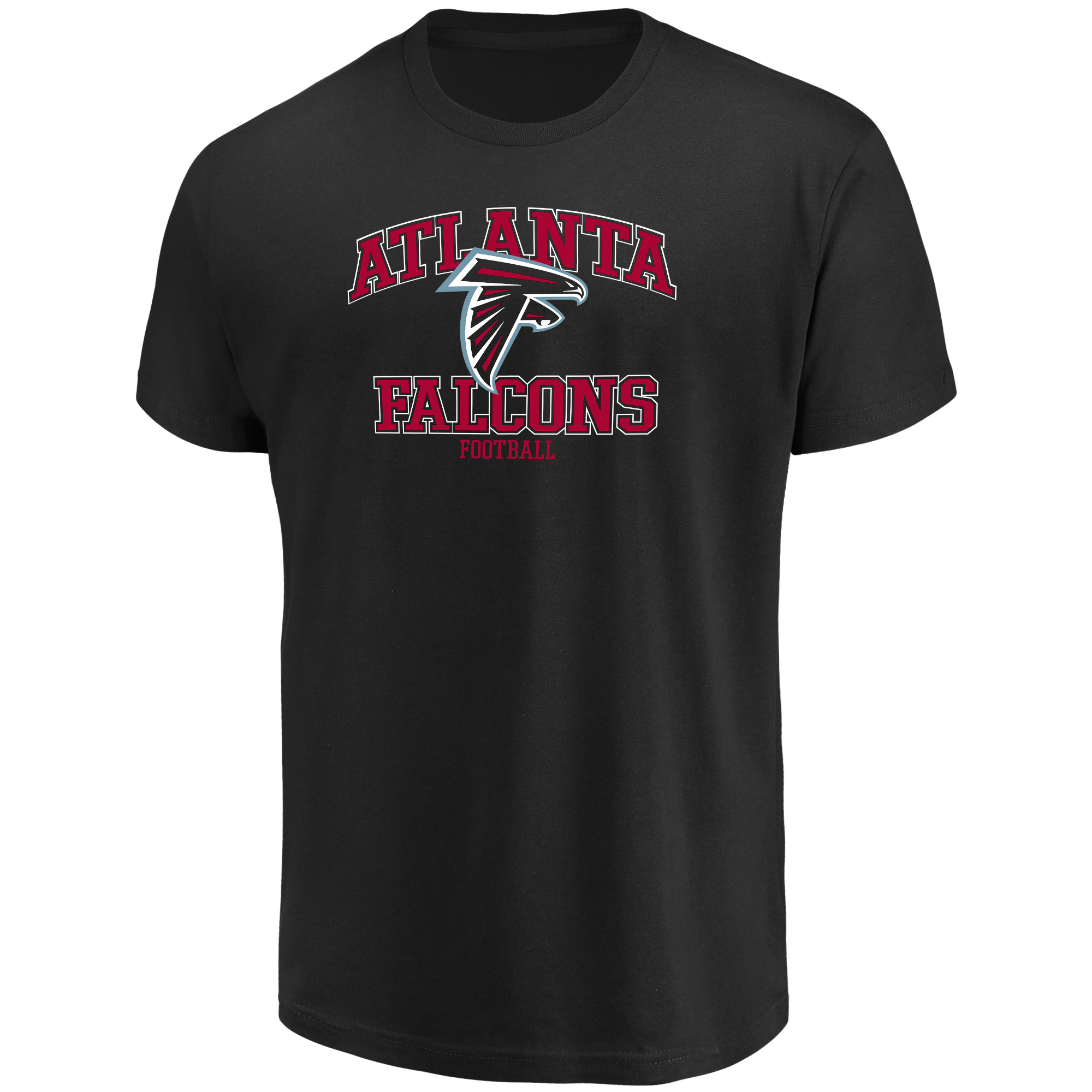 Men's Majestic Black Atlanta Falcons Greatness T-Shirt