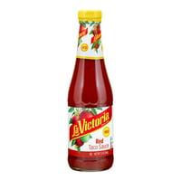 Deals on La Victoria Red Taco Sauce Medium, 12-Ounce
