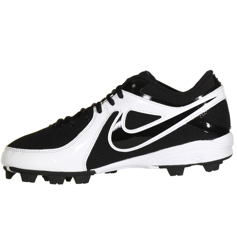 Nike MVP Keystone Low LE Black White Mens Baseball Cleats US 6.5 M, EU 39