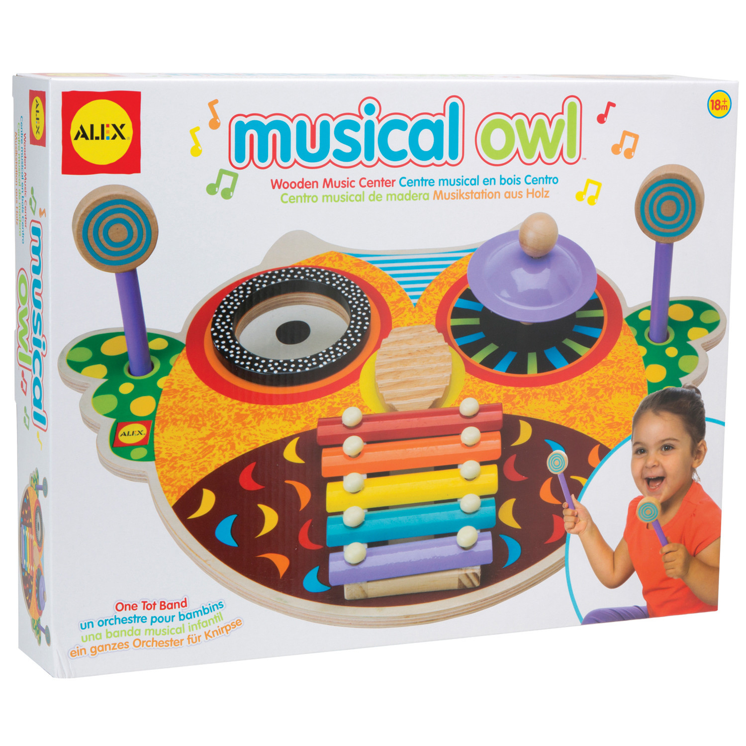 ALEX Toys Musical Owl by POOF-Slinky, Inc.