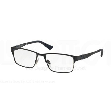 POLO Eyeglasses PH 1147 9303 Matte Blue 54MM