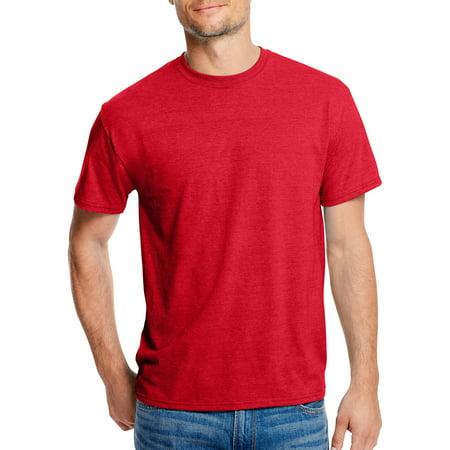 Hanes big and tall men 39 s x temp with fresh iq short sleeve for Big n tall shirts