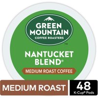 Green Mountain Coffee Nantucket Blend K-Cup Pods, Medium Roast, 48 Count for Keurig Brewers