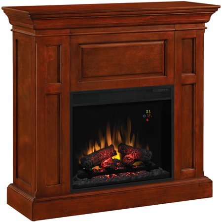 ChimneyFree Dual Entertainment Electric Fireplace, Cherry