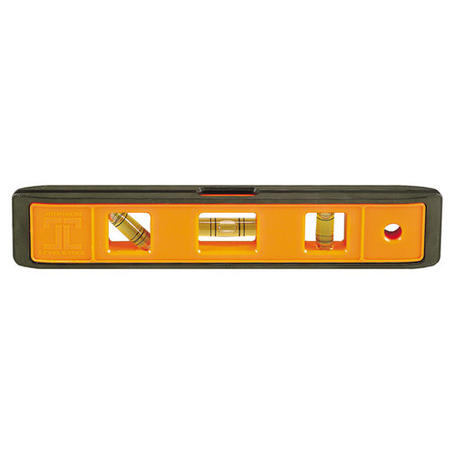 Johnson Level & Tool 7500B-ORANGE 9-Inch Orange Cast Torpedo Level by Johnson Level