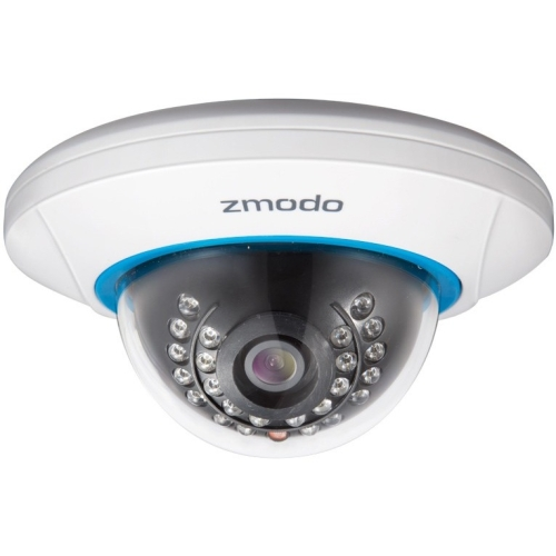 Cámaras De Vigilancia Zmodo Network Camera - Color - 50 ft - H.264 - 1280 x 7202.80 mm - Cable, Wireless - Dome + Zmodo en VeoyCompro.net