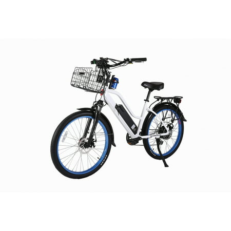 X-Treme Scooters - Catalina Beach Crusier 48V 500W Lithium Ion Long Range Electric Bike, Includes