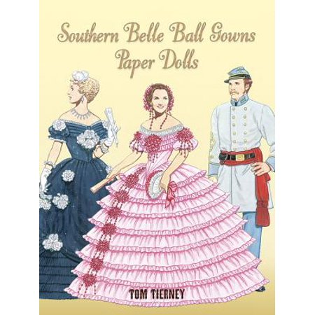 Southern Belle Ball Gowns Paper Dolls - Southern Belle History