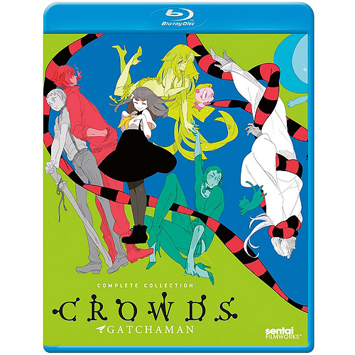 Gatchaman Crowds: Complete Collection (Blu-ray) ADNBRSFBGMC10