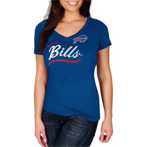 NFL Buffalo Bills Women's Plus V-Neck Tee