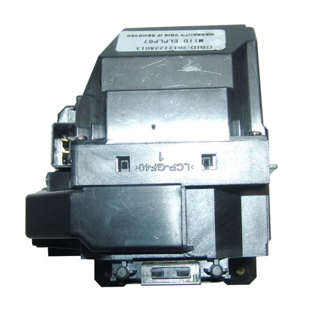 Original Osram Projector Lamp Replacement with Housing for Epson PowerLite Home Cinema 710UG - image 4 de 5