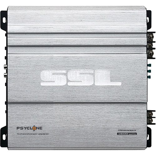 Soundstorm Psyclone PSY1600.4 Car Amplifier - 1600 W PMPO - 4 Channel - Class AB