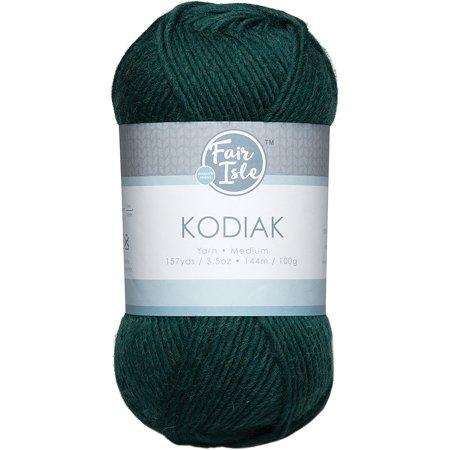 Fair Isle Kodiak Solid Color Yarn Forest