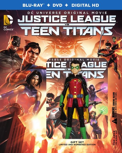 Justice League vs. Teen Titans (Blu-ray) by DC COMICS