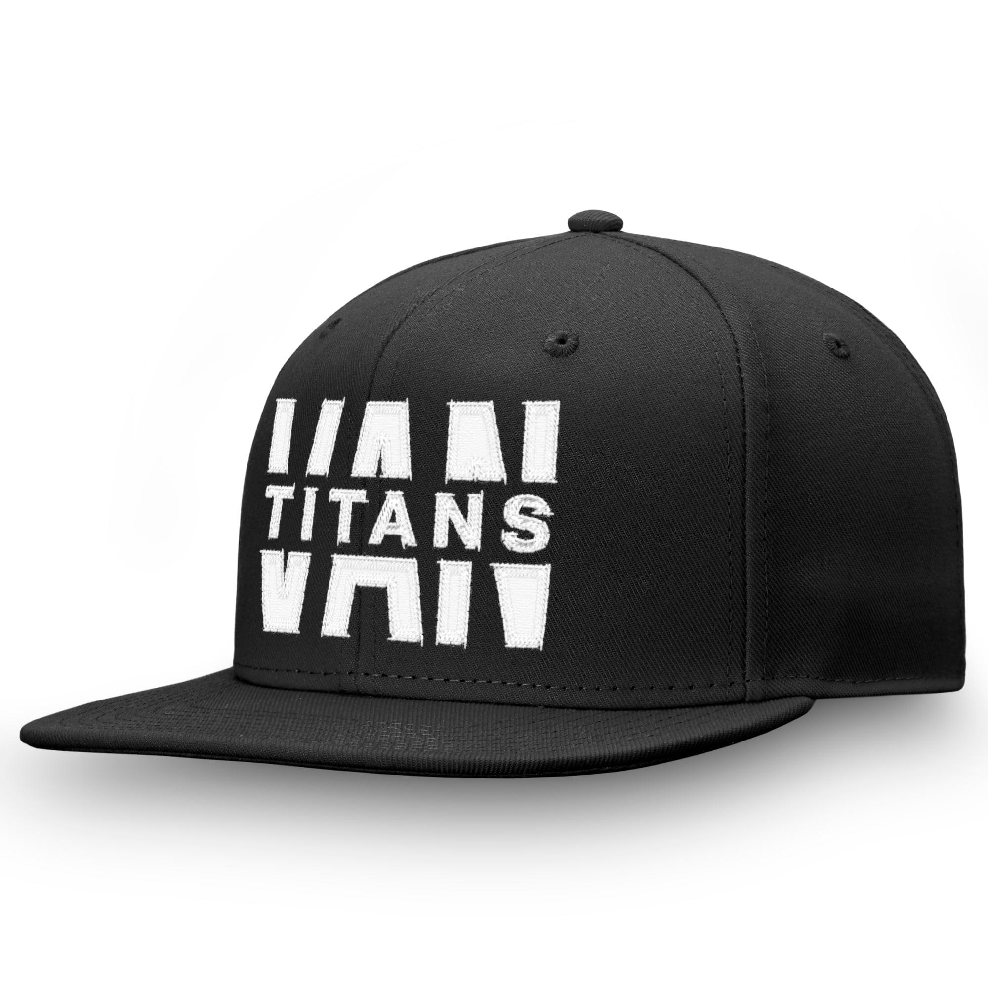 Vancouver Titans Fanatics Branded Profile Adjustable Snapback Hat - Black - OSFA