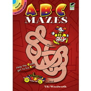 Dover Publications-ABC Mazes Book