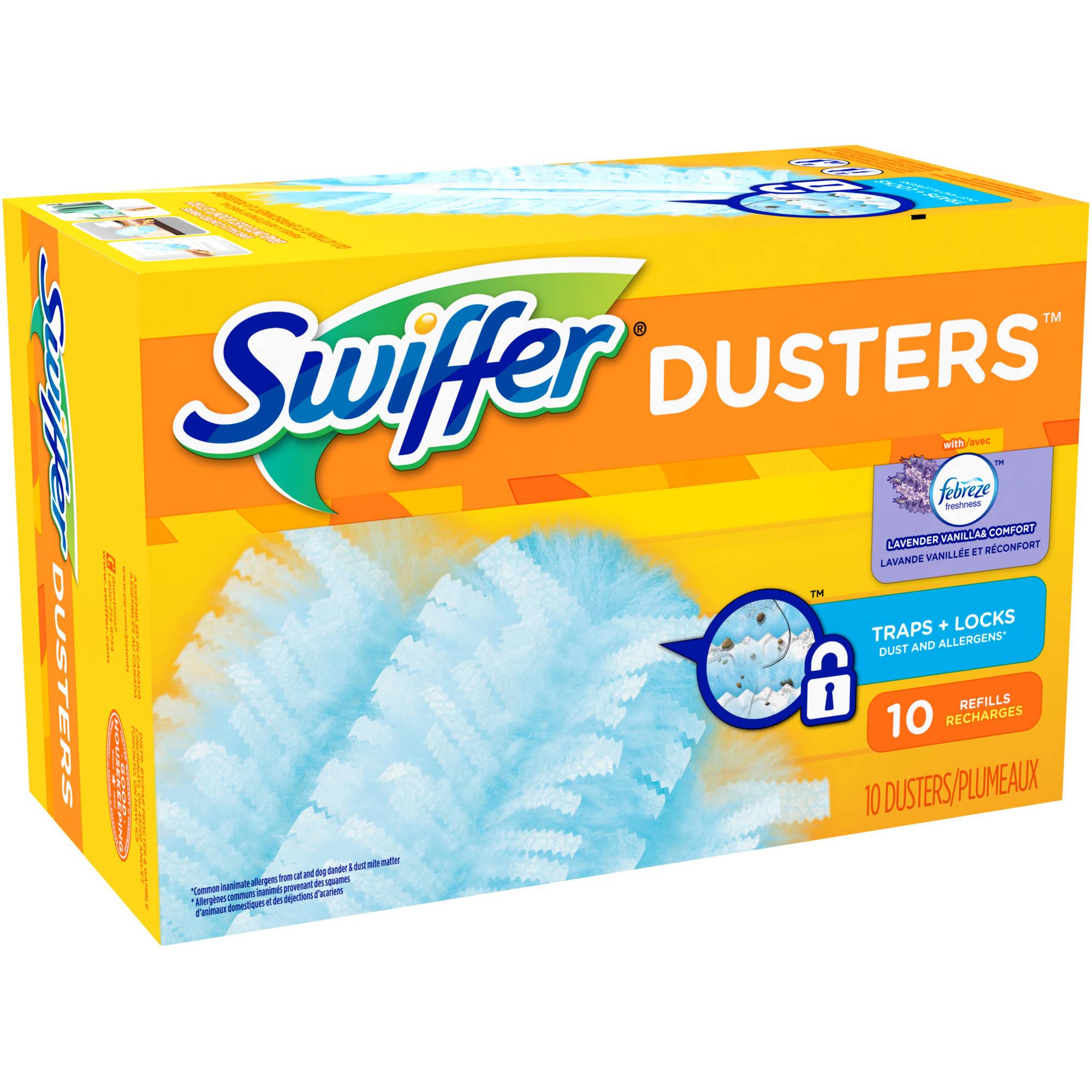 Swiffer With Febreze Dusters Refills, Fresh Scent Lavender Vanilla & Comfort , 10 ct