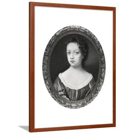 17th Century Framed Print - Bridget Cromwell, Eldest Daughter of Oliver Cromwell, 17th Century Framed Print Wall Art By Peter Cross