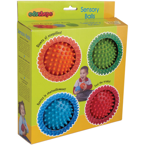 Edushape Sensory Balls, 4-Pack