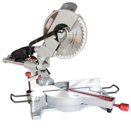 Professional Woodworker  15A 12-inch Sliding Compound Miter Saw with Laser