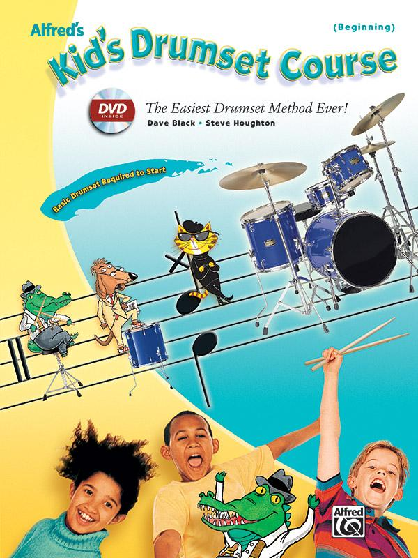 Kid's Drumset Course: Alfred's Kid's Drumset Course: The Easiest Drumset Method Ever!,... by Alfred Music