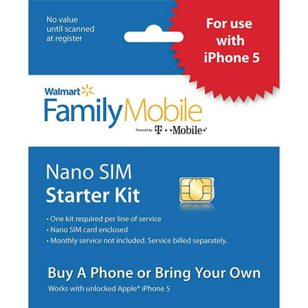Family Mobile Iphone Sim Card