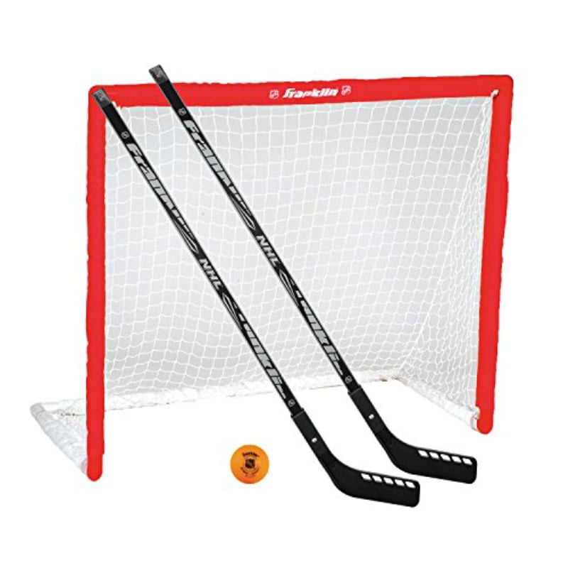 Franklin Sports Hockey Goal, Ball, and Stick Set NHL by Overstock