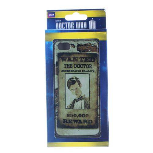 Doctor Who iPhone 5 Hard Snap Case Doctor Wanted Poster