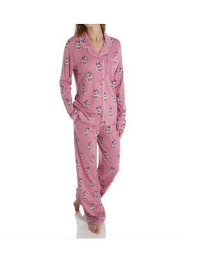 Women's Munki Munki M01822 Disney Minnie Long Sleeve PJ