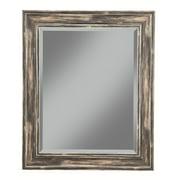 "Farmhouse Antique Black Wall Beveled Mirror 36""x30"" by Martin Svensson Home"