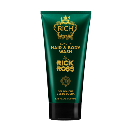 RICH by RICK ROSS LUXURY HAIR & BODY WASH, 8 FL OZ