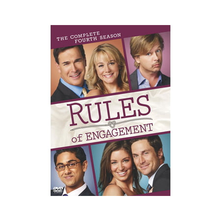 Rules of Engagement: The Complete Fourth Season (DVD) (Rules Of Engagement Volume 2)