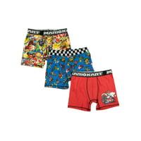 Boy's Super Mario 3-Pack Underoos Poly Boxer Brief