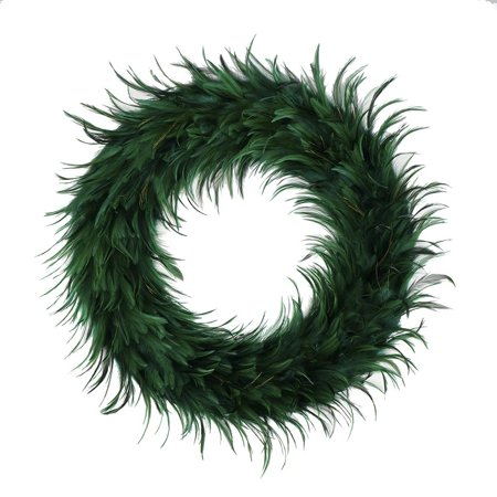 Feather Wreath (Zucker Feather Products Hackle Feather Wreath 24