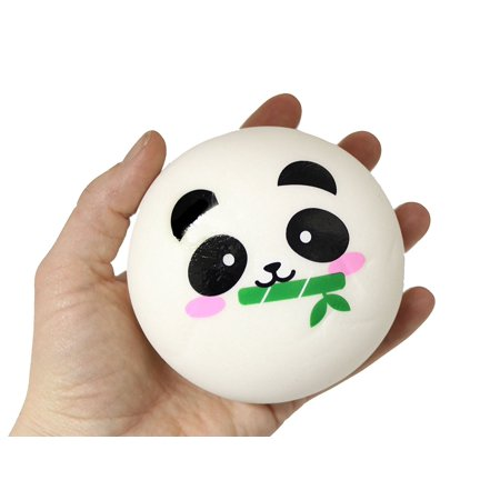 (Panda) Large Animal Face Squishy Slow Rise - Sensory, Stress, Fidget Toy - Squishy Stores