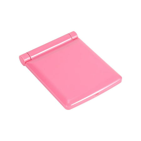 Yosoo Pocket Mirror with Light Portable Cosmetic Folding Pocket Compact for Travel or Outside with 8 shine LED (Pink) - image 3 de 6