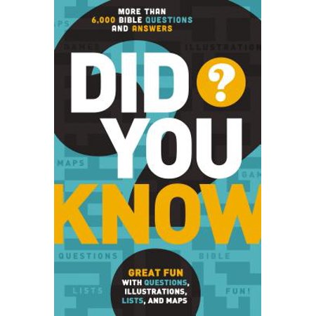 Did You Know? : More Than 6,000 Bible Questions and