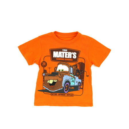 - Disney Cars Toddler Boys Short Sleeve Tee XDC6921F