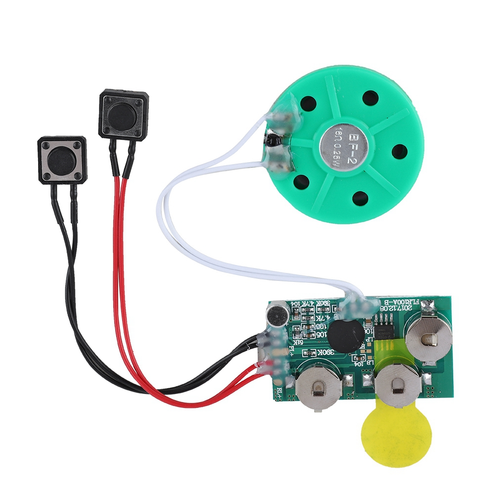 Kritne Greeting Card Chip, Recordable Sound Module, DIY ...