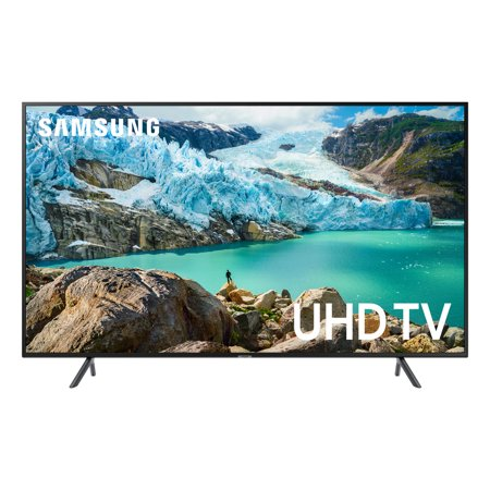 Samsung 55u0022 Smart 4K UHD TV - Charcoal Black (UN55RU7100FXZA)