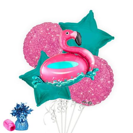 Flamingo Fun Balloon Bouquet Kit - Flamingo Pinata