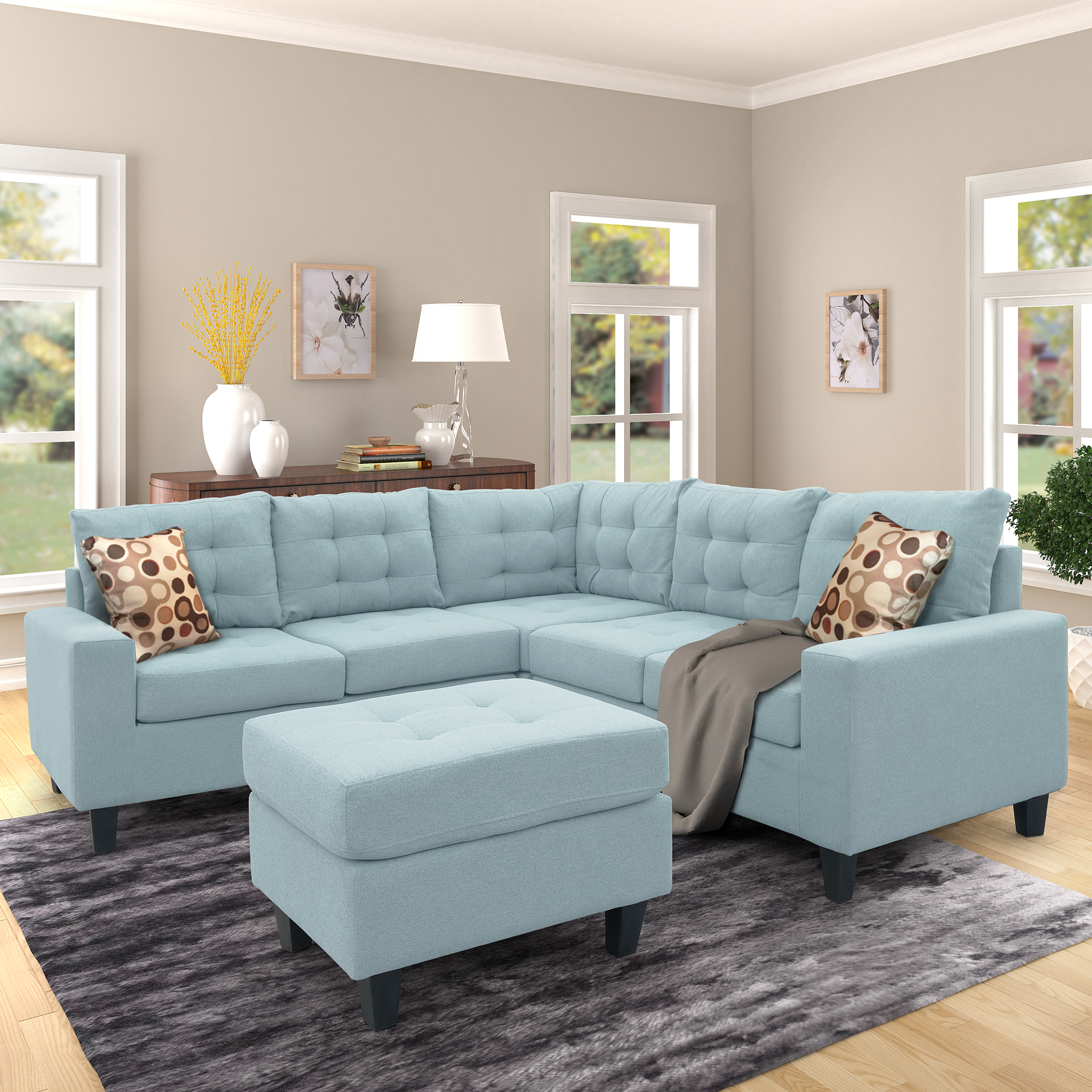 Living Room Furniture Sectional Sofa