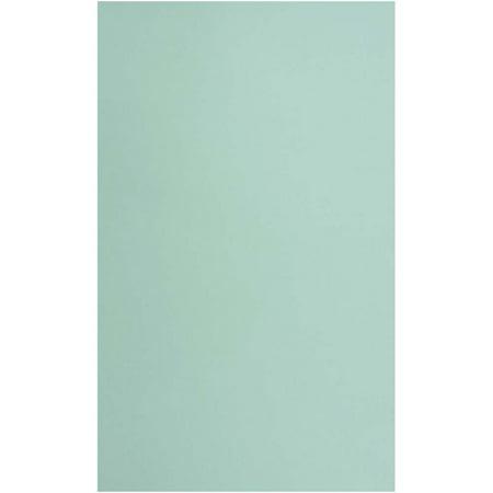"""JAM Paper Matte Legal Cardstock, 8.5"""" x 14"""", 80lb Aqua, 50 Sheets/Pack"""