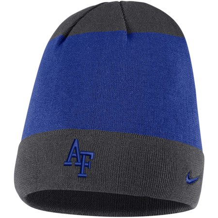 Air Force Falcons Nike Sideline Training Knit Performance Beanie - Royal -