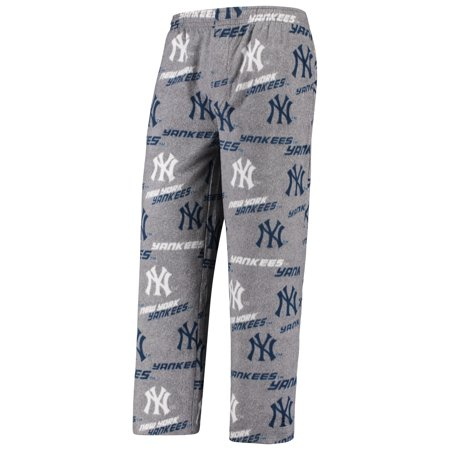 New York Yankees Concepts Sport Achieve Fleece Pants - Gray