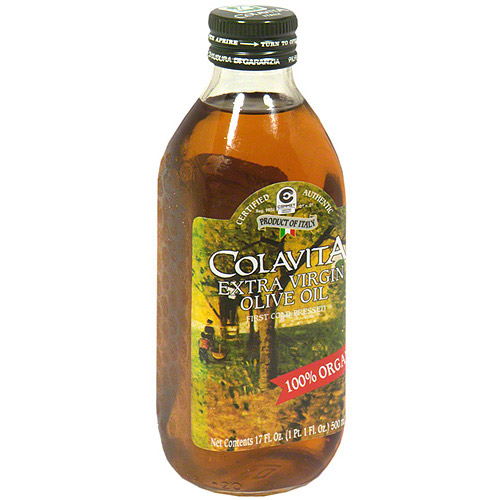 Colavita 100% Organic Extra Virgin Olive Oil, 17 oz (Pack of 6) by Spectrum