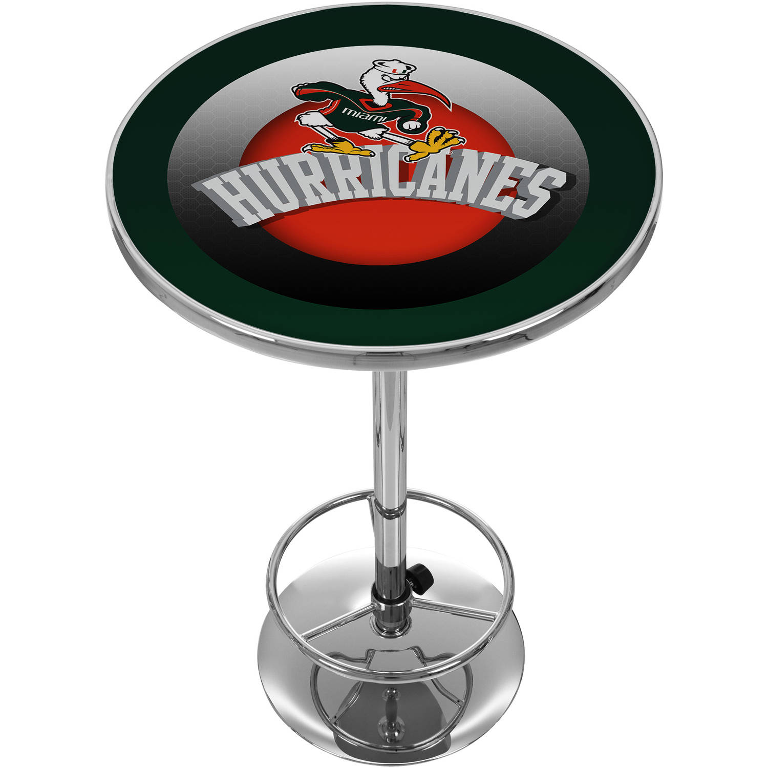 University of Miami Chrome Pub Table, Reaching Sebastian