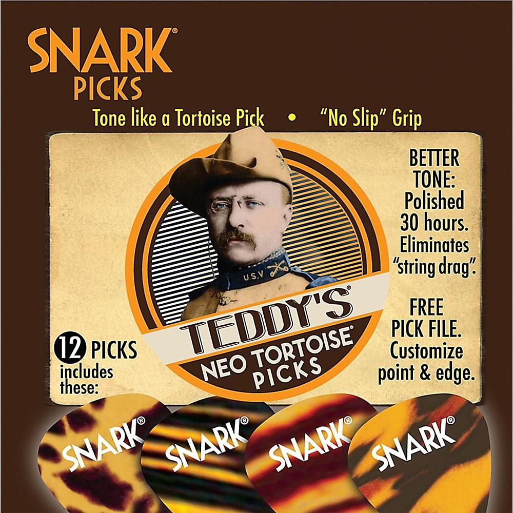 Snark Teddy's Neo Tortoise Guitar Picks 1.0 mm 12 Pack