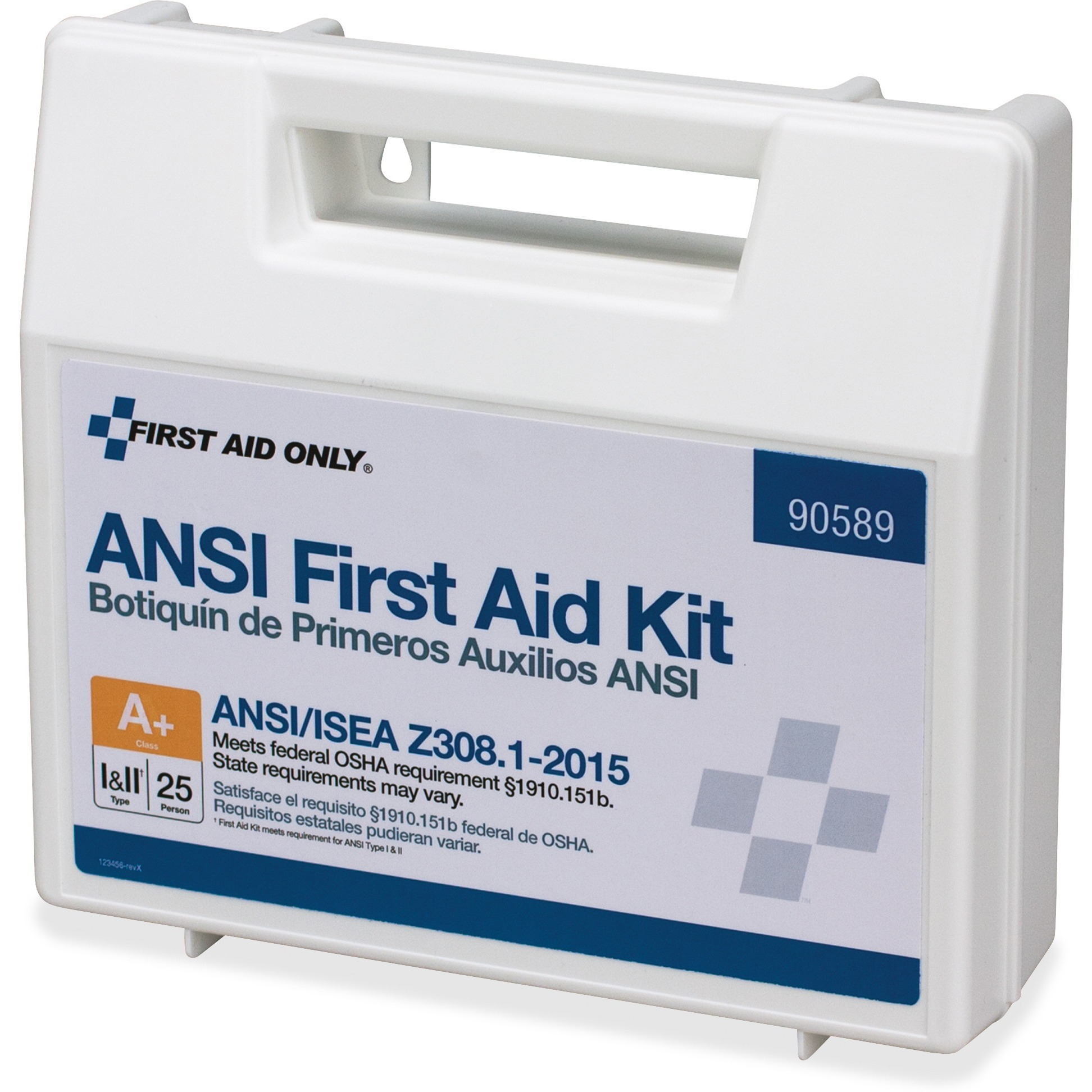 First Aid Only, FAO90589, 141-piece ANSI First Aid Kit, 1 Each, White by First Aid Only, Inc